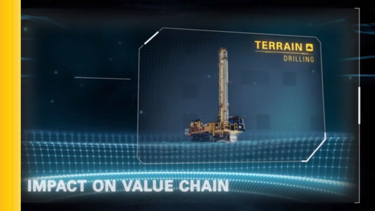 Over-drilling. Under-drilling. Proper hole placement. Angle accuracy. Blasting efficiency. These are just a few of the challenges to achieving an accurate drilling operation. Cat® MineStar™ Terrain for drilling addresses these challenges.