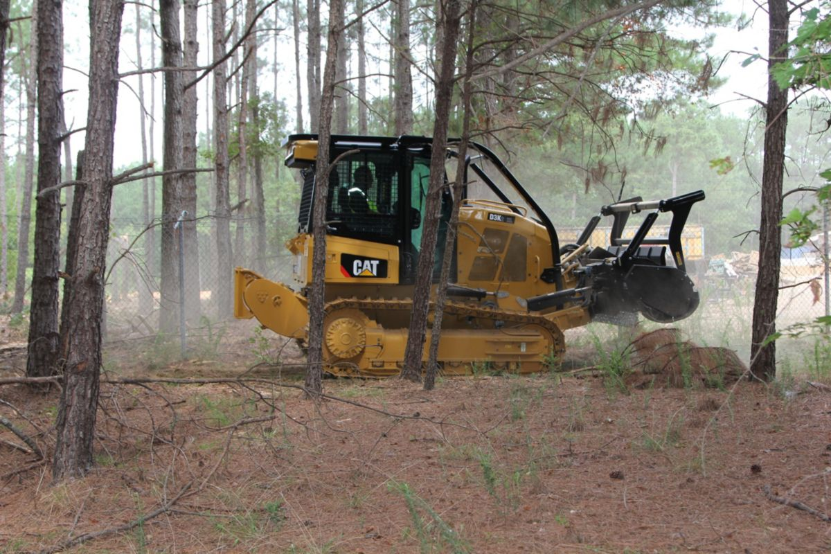 Cat D3K2 Mulcher