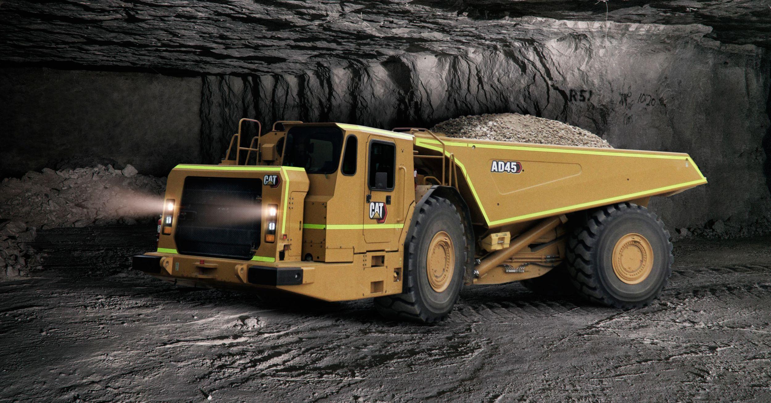 Cat AD45 Underground Truck