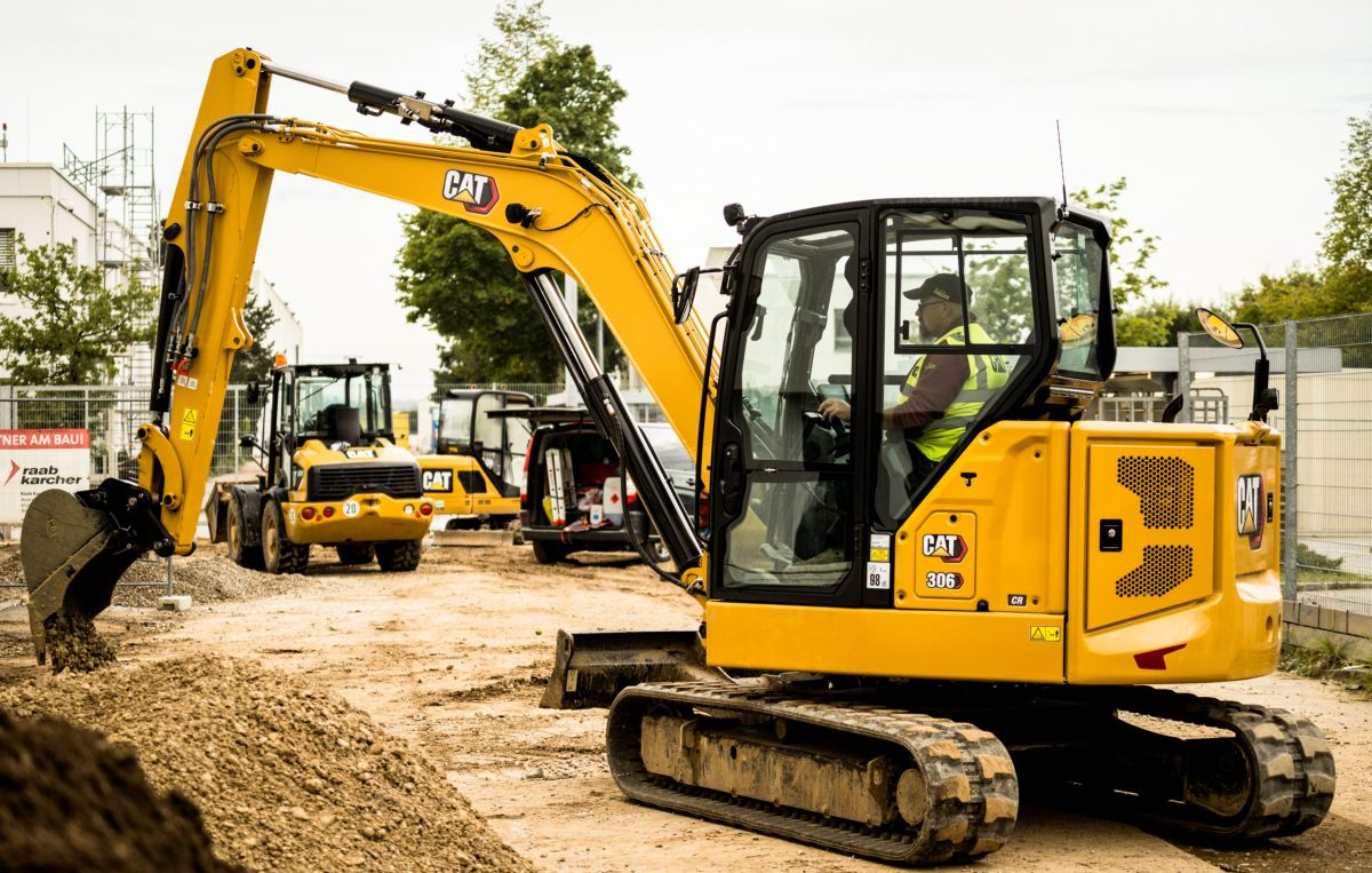 306 CR Next Generation Mini Hydraulic Excavator