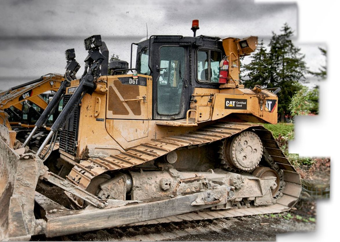 Cat Certified used Dozers