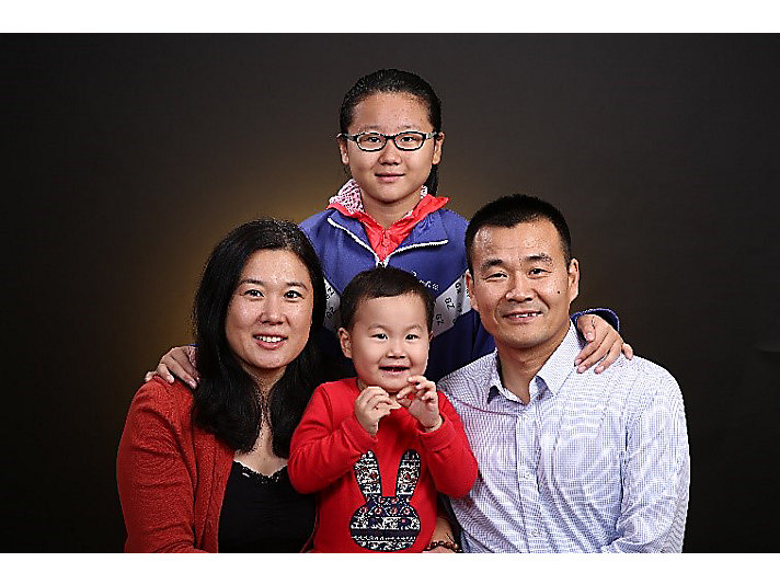 Fred Liu and Family