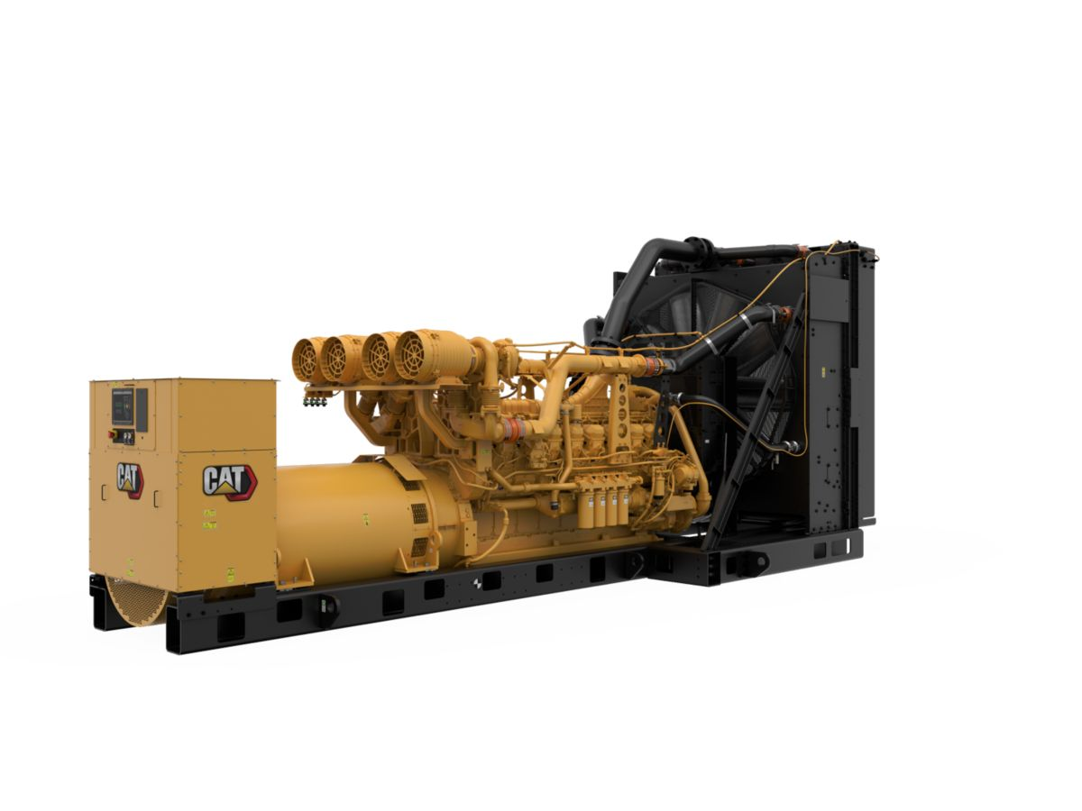 Cat® 3516E Diesel Generator Set with power density