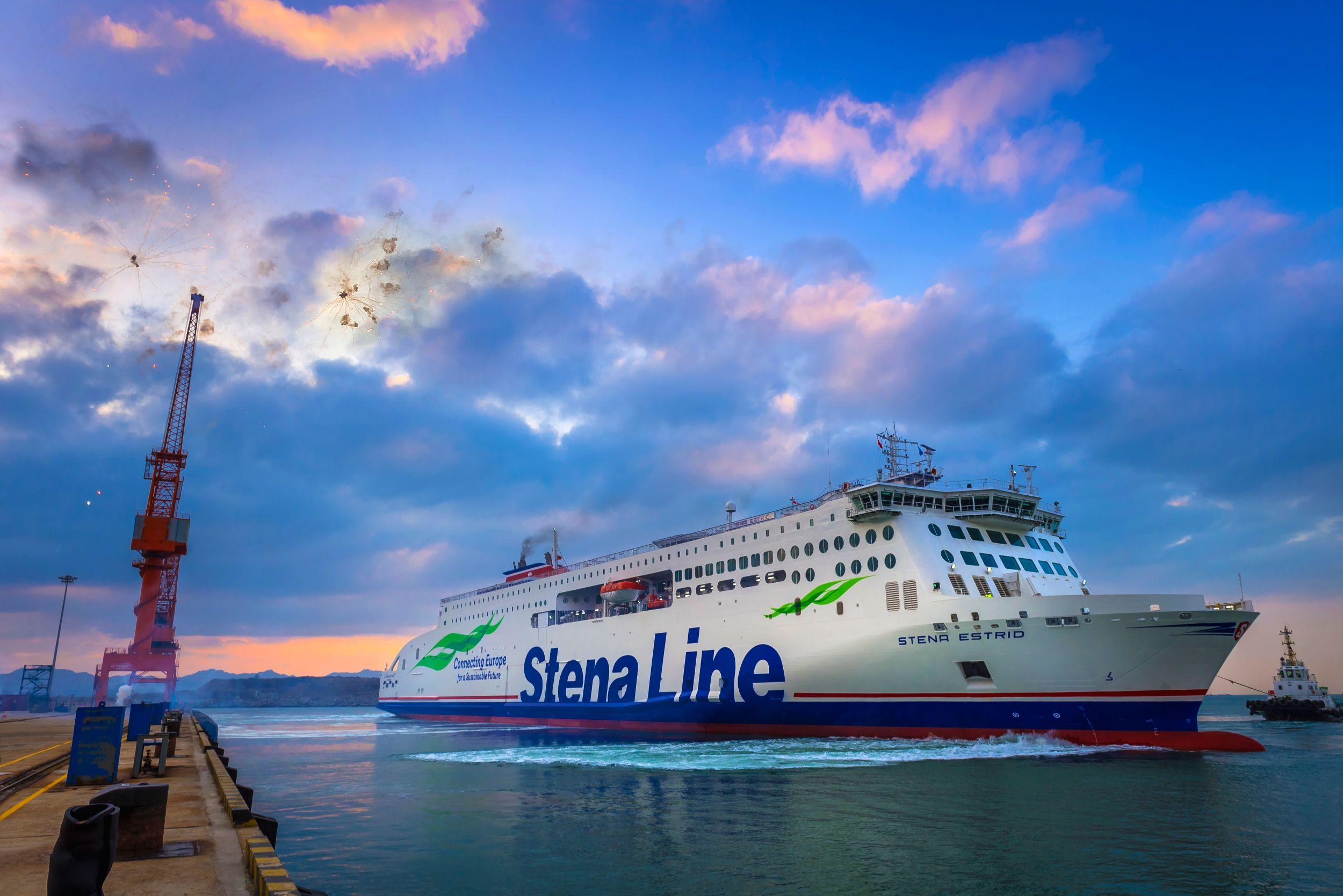 The Stena E-flexer Ferry. Image courtesy of Stena