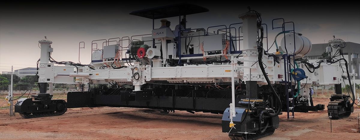 AJAX ENGINEERING PVT. LTD. - PAVING THE WAY IN CONCRETE FINISHING APPLICATIONS
