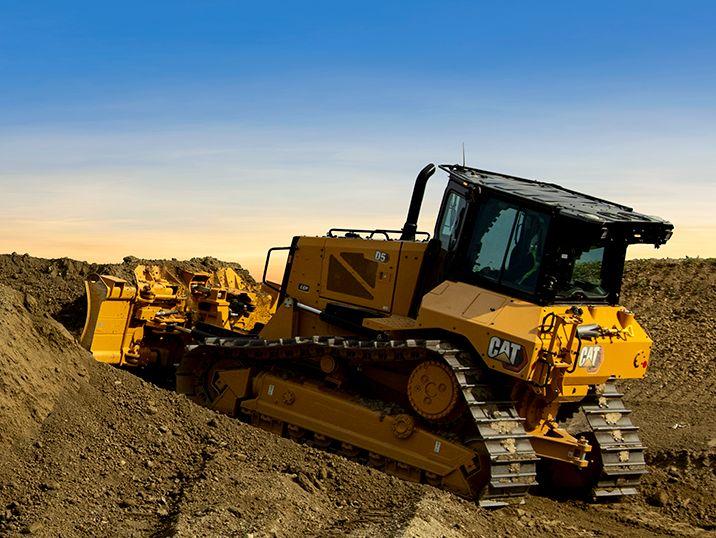 Los Nuevos Tractores de Cadenas Cat D5