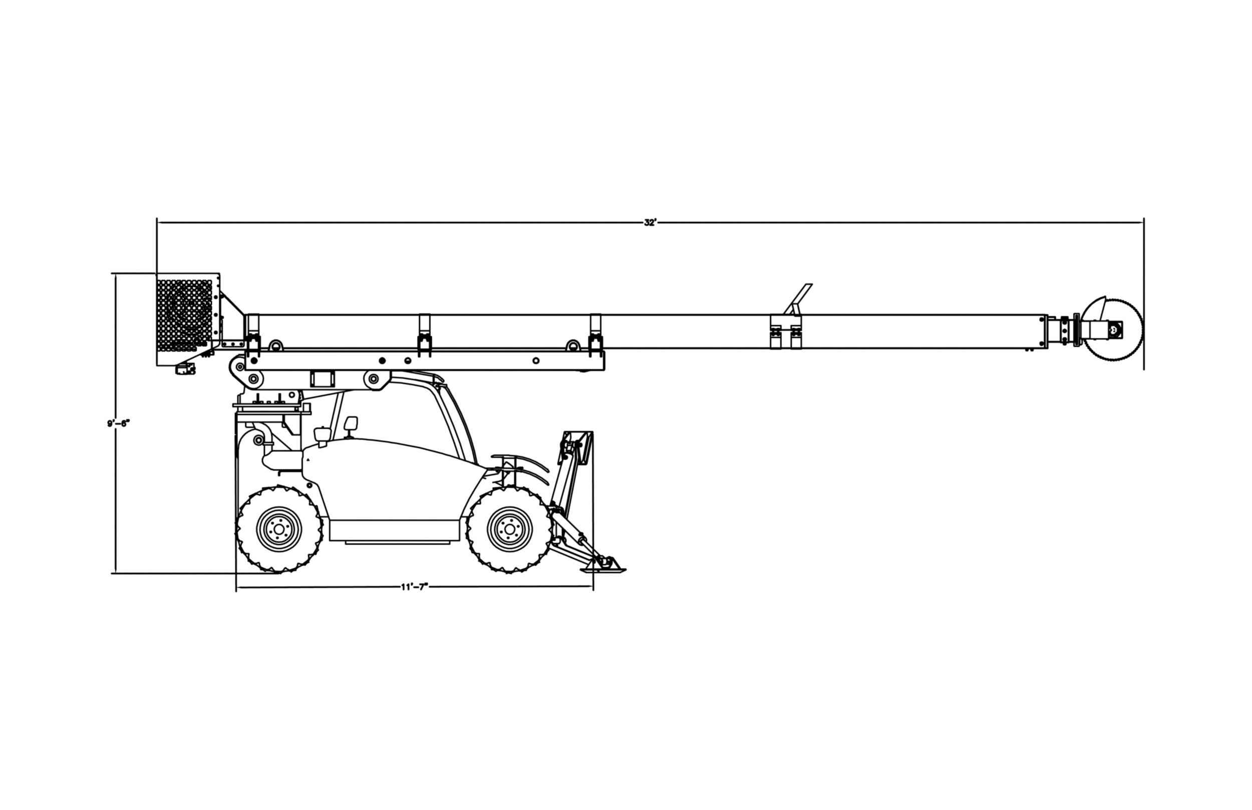 Skytrim Mini 55TH, Mechanical Tree Trimmer