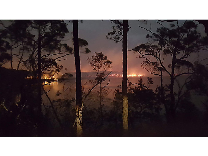 New South Wales, Australia, January 2020