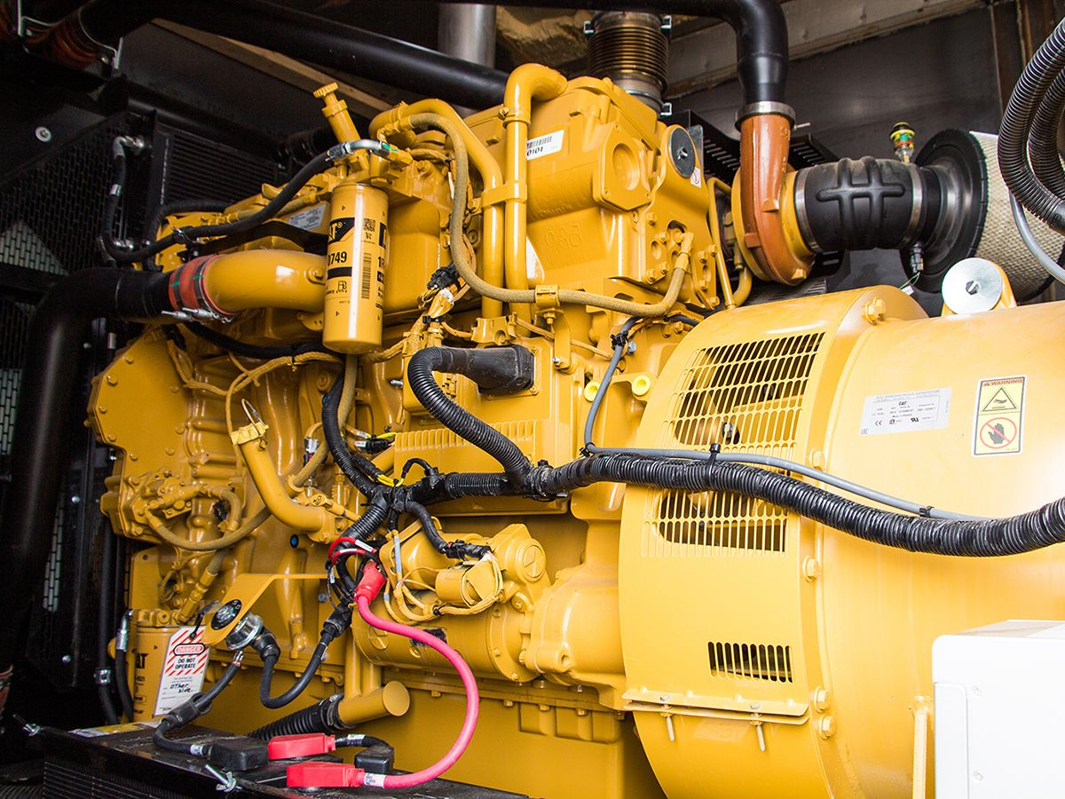 Just days after installation, Highline's new C18 generator set was put to the test when a snowstorm knocked out the grid power at the farm for a day and a half.