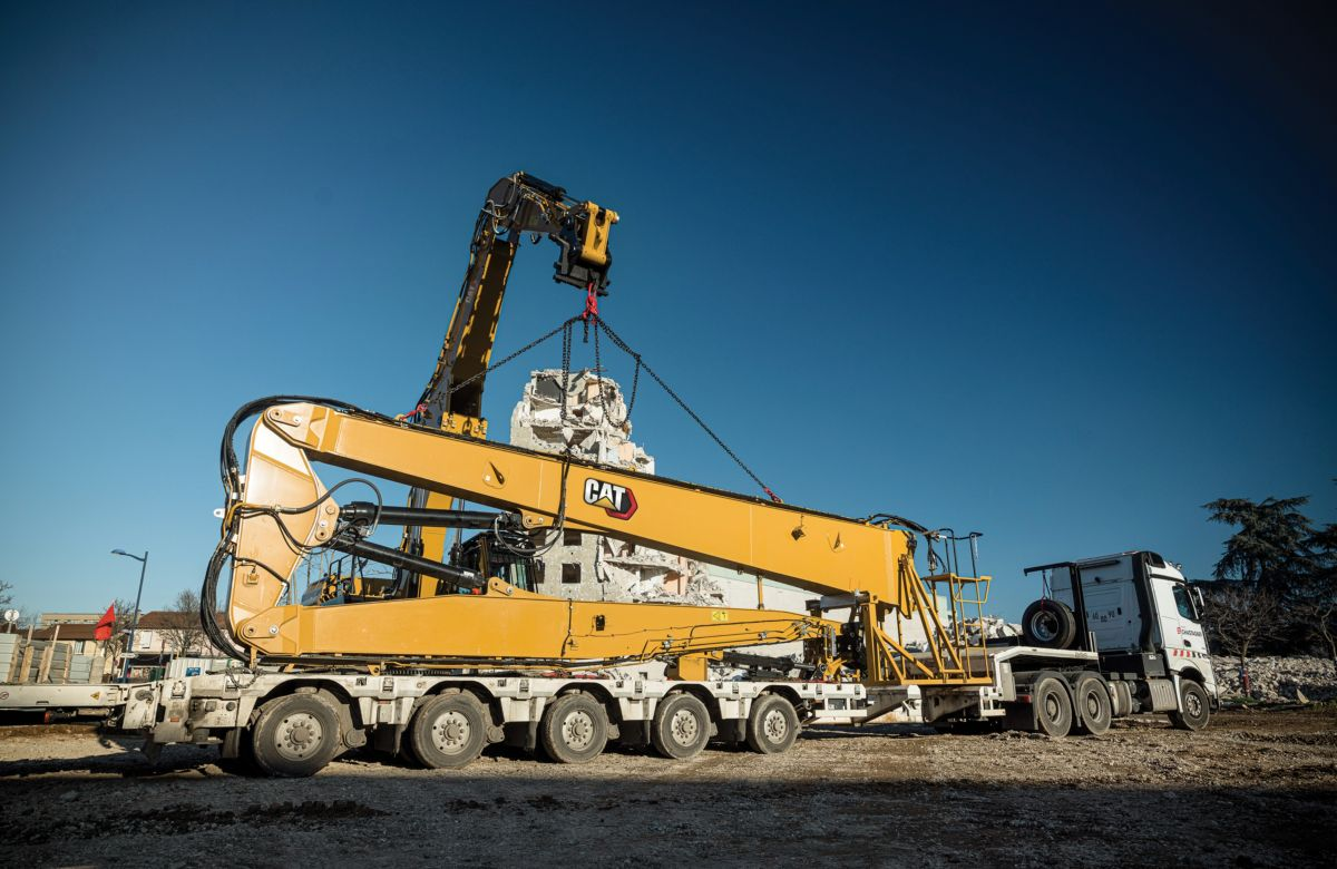 UHD Fronts for Demolition Equipment