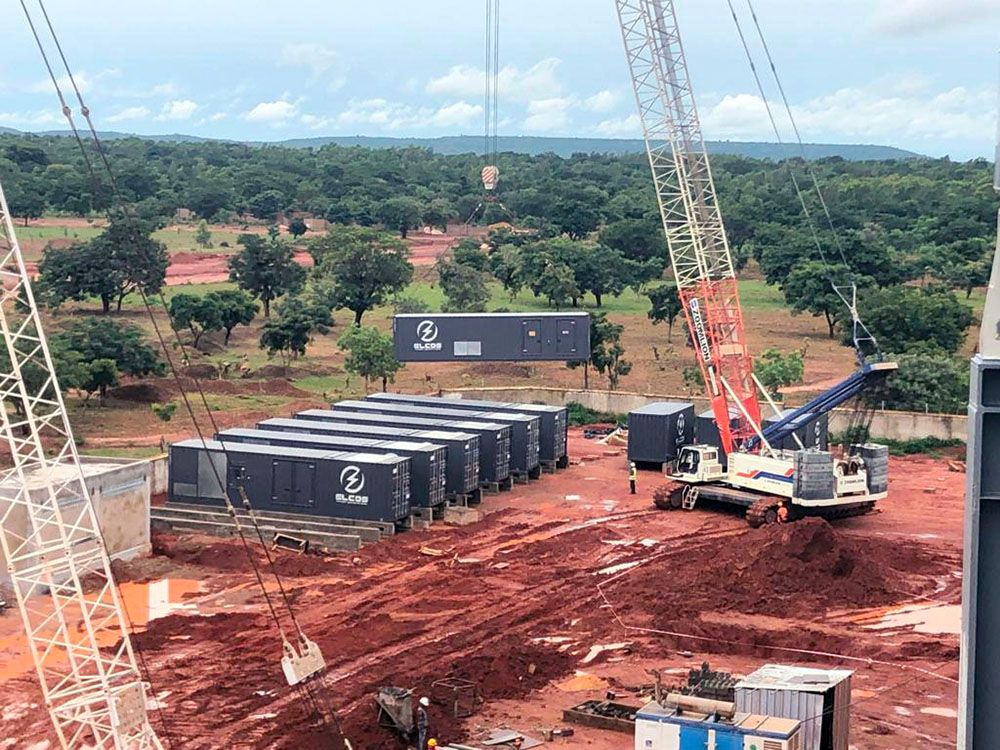 Perfect power mix for African cement factory