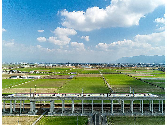 Japan Train Landscape