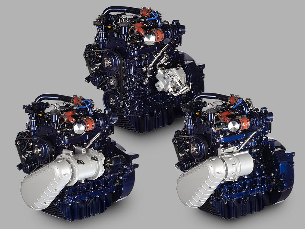 Perkins debuts new hybrid engine technologies for first time in U.S. at CONEXPO-CON/AGG 2020