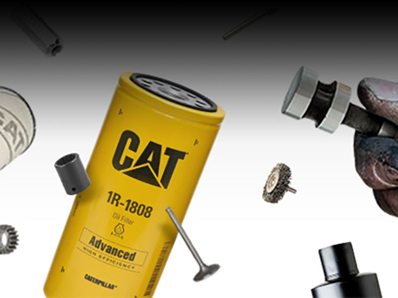 Cat bundled repair solutions for industrial engines