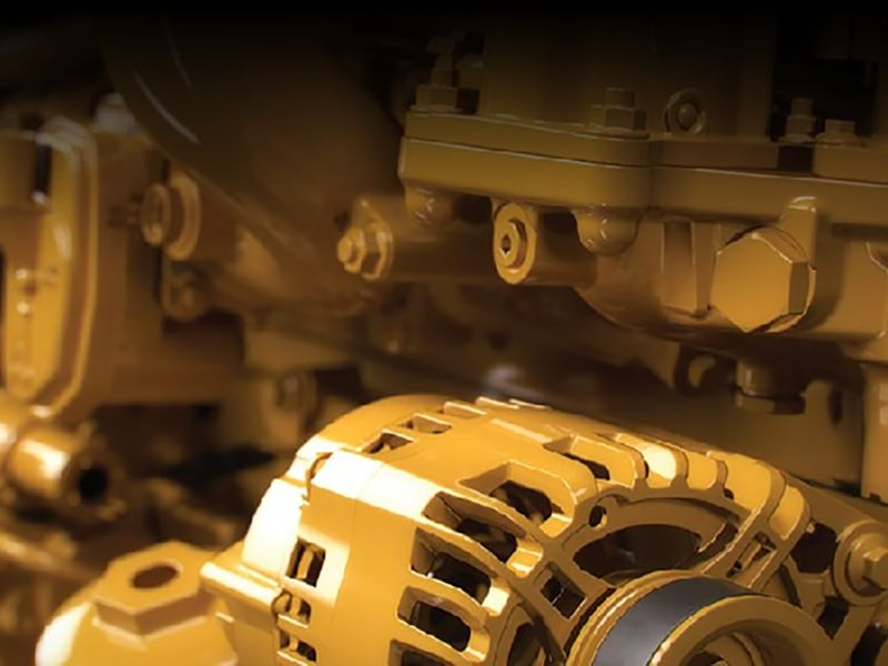 Cat® Cylinder head repair options for industrial engines