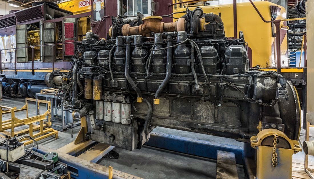 Commercial Engine Rebuild (Locomotive)