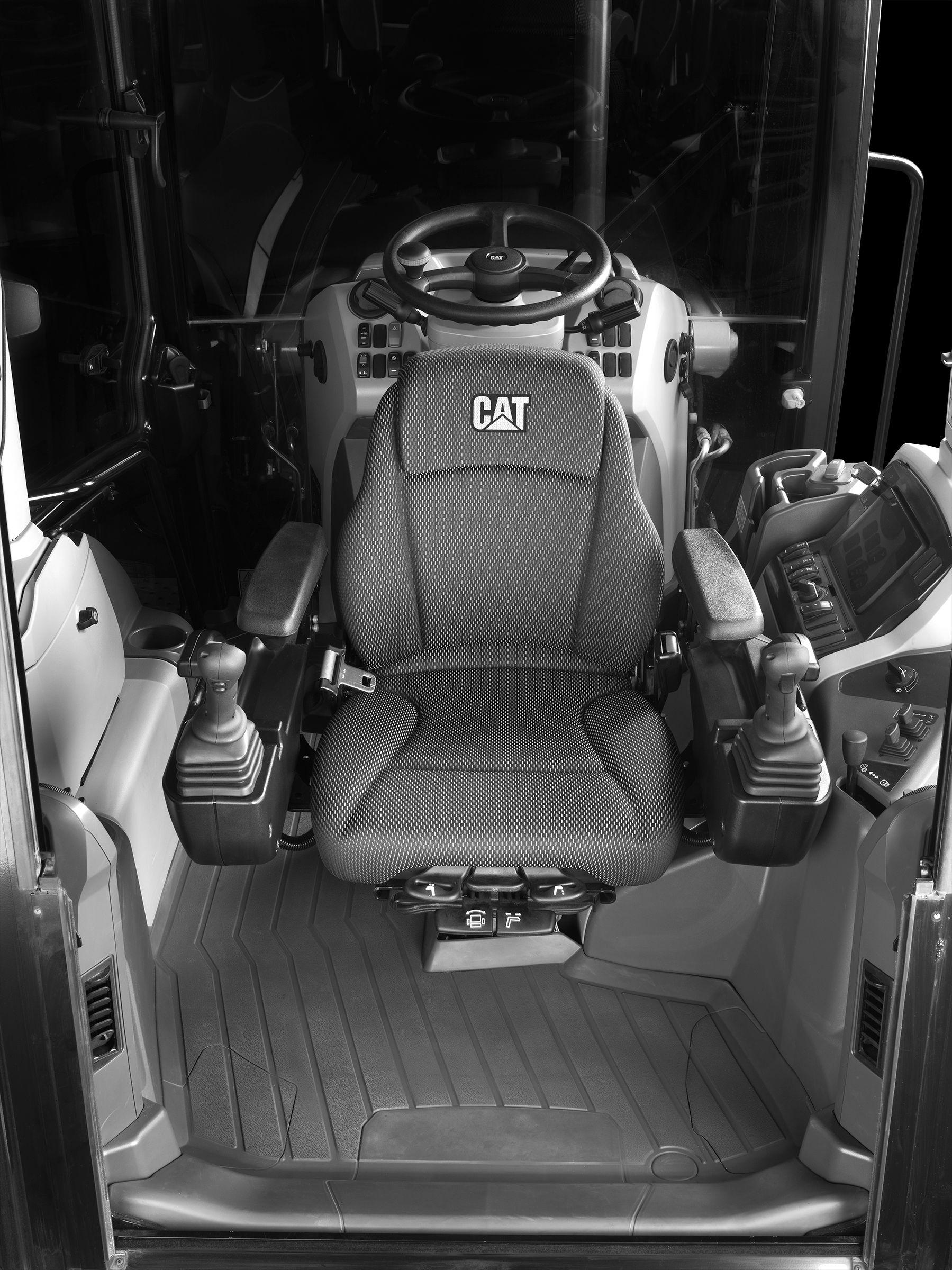 Cat 420 XE Backhoe Loader Joysticks