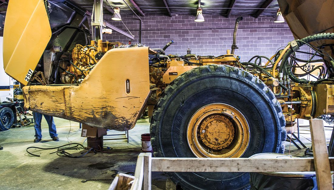 Machine Rebuild (Wheel Loader)