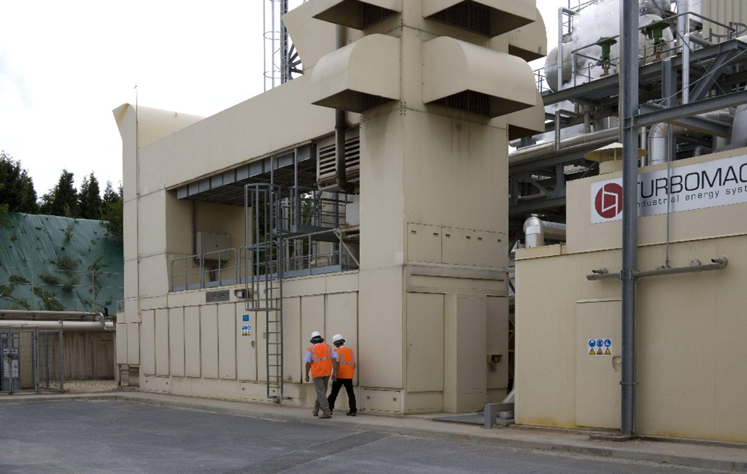 Veolia Proprete Biogas Power Plant