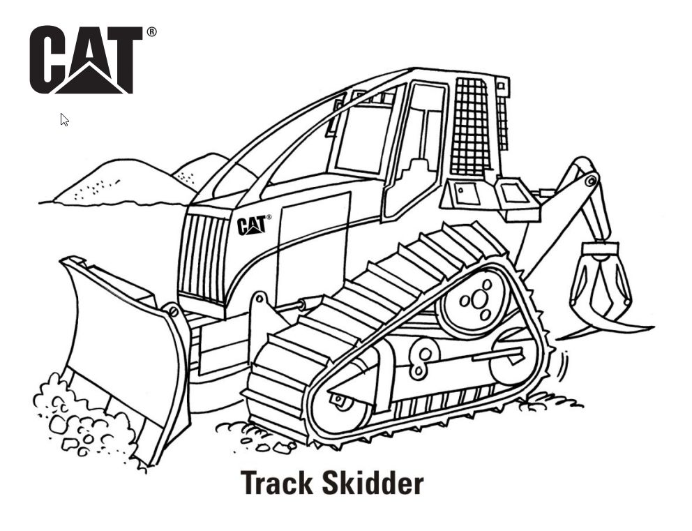 Track Skidder