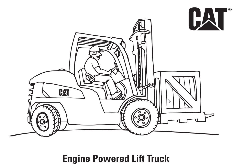 Engine Powered Lift Truck