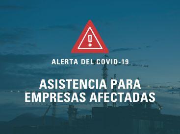 Alerta del COVID-19: Asistencia para empresas afectadas