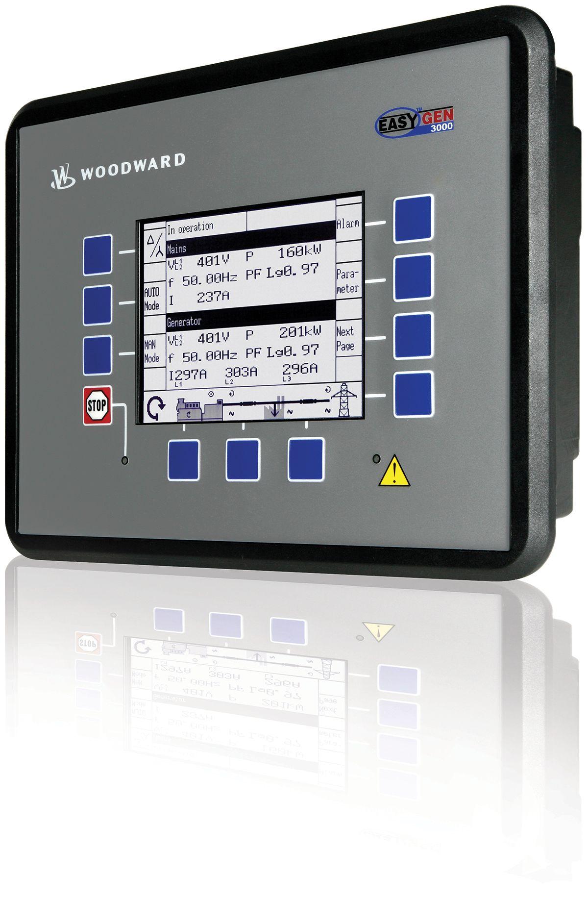 easYgen 2500 Control Panel