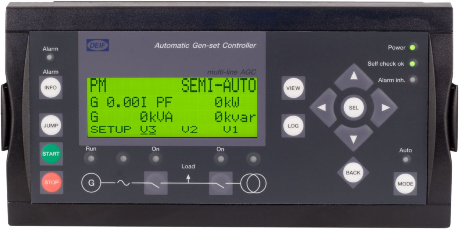 DEIF control panel