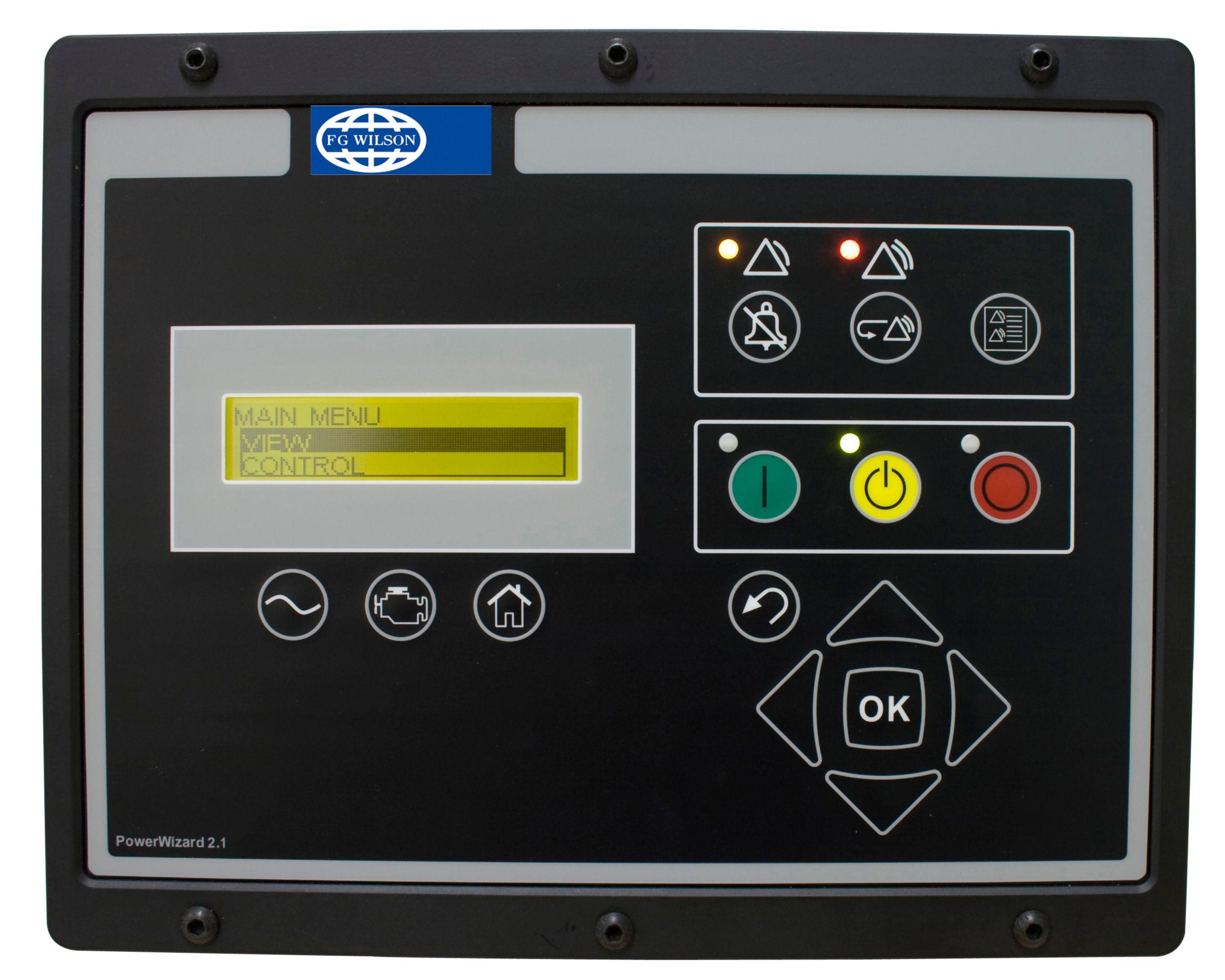 PowerWizard control panel