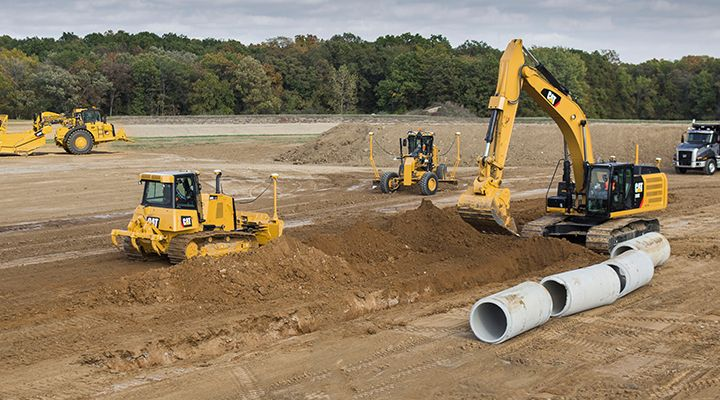 Cat Link for Construction