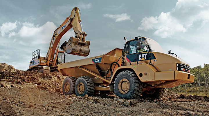 Cat Technology for Construction Industries