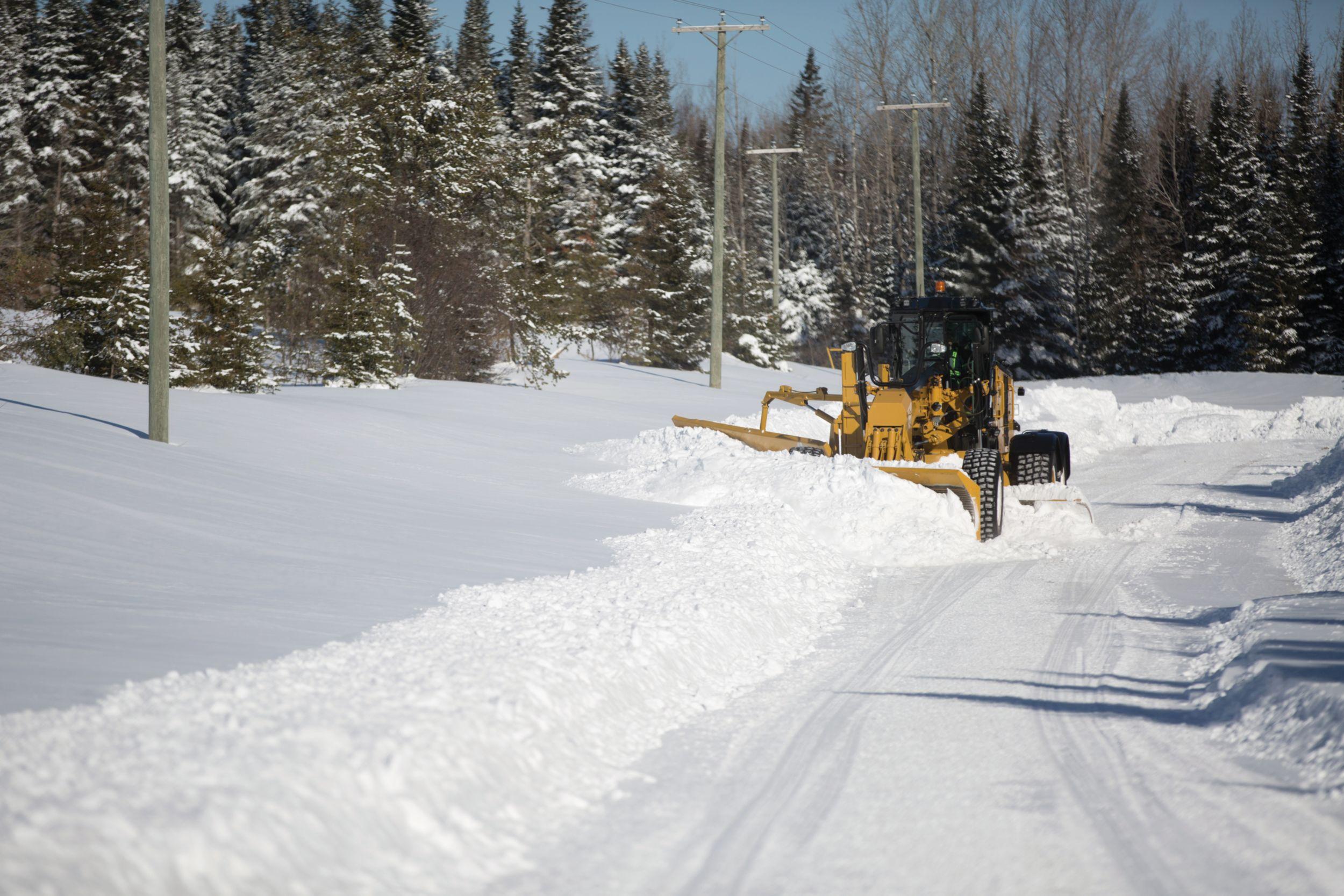Motor Grader Snow Solutions