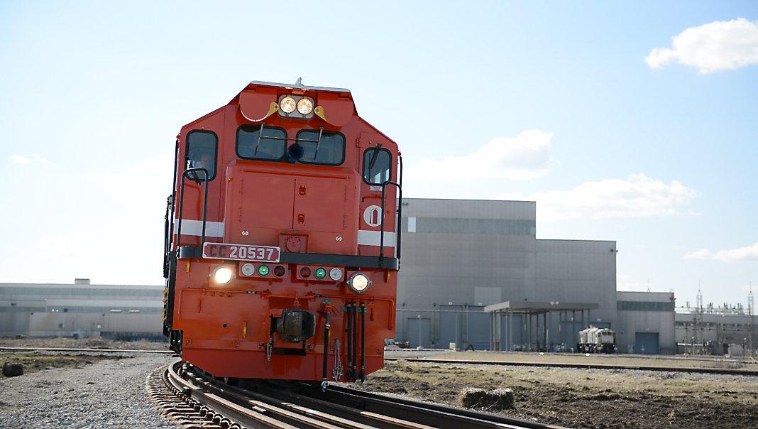locomotive manufacturing