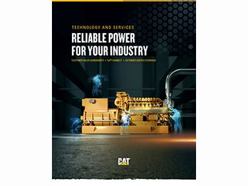 RELIABLE POWER FOR YOUR INDUSTRY.