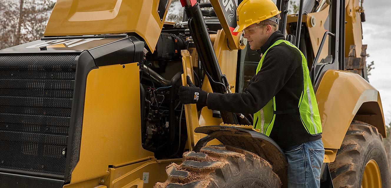 Programas de proteção que o ajudam a reagir melhor às suas necessidades de serviço e manutenção.