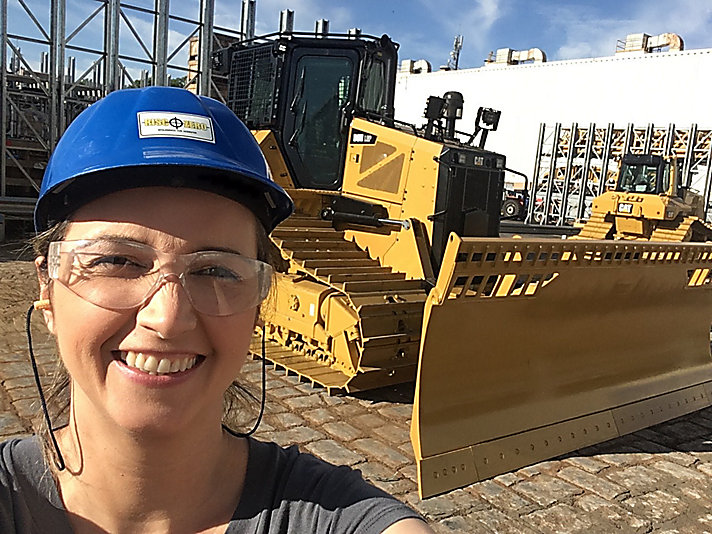 Roberta Scandolara of Caterpillar Brazil