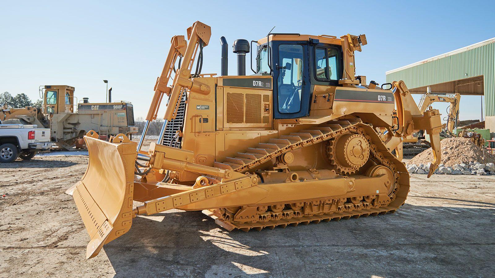 D7R Dozer Certified Rebuild