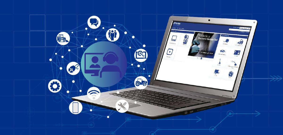 Online service training