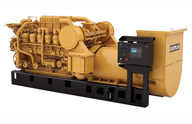 DGB kit installed on 3512C generator set