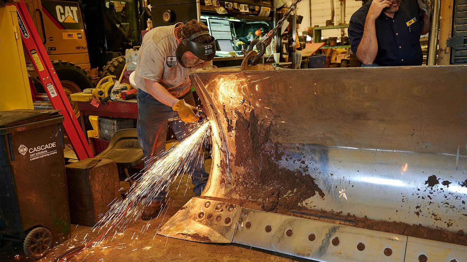Precision edge cutting blade upgrade