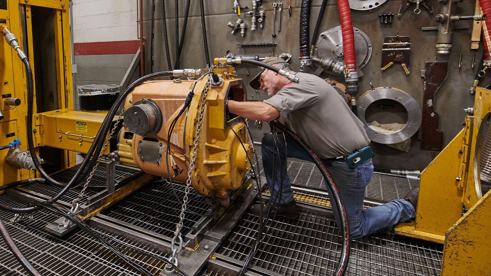 Transmission component rebuild