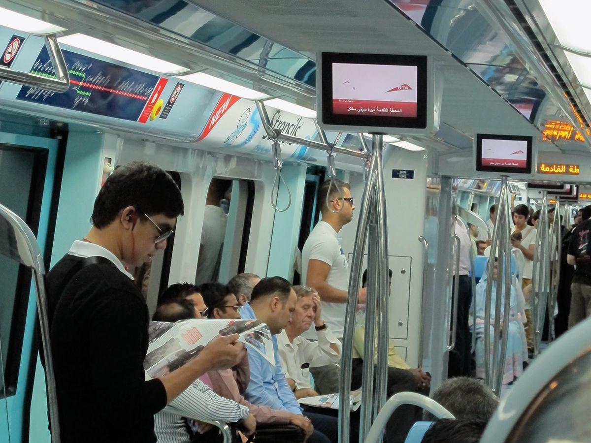 Cat® generators support Dubai Metro system