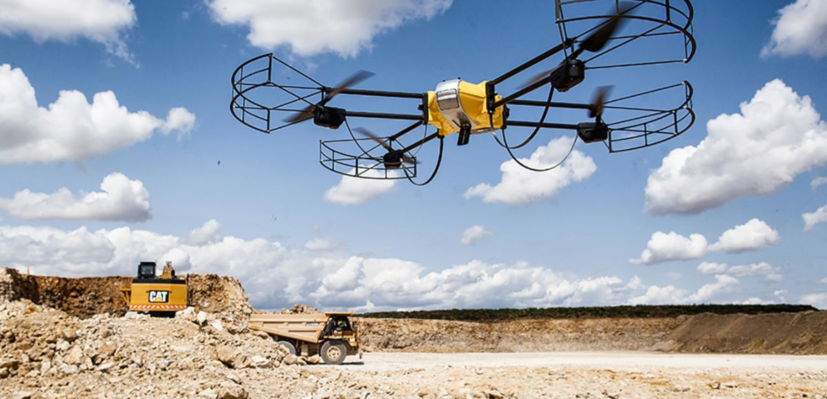 Drones in Construction on the Rise