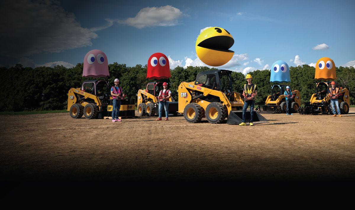 Desafio Cat® 9: Pac-Man™