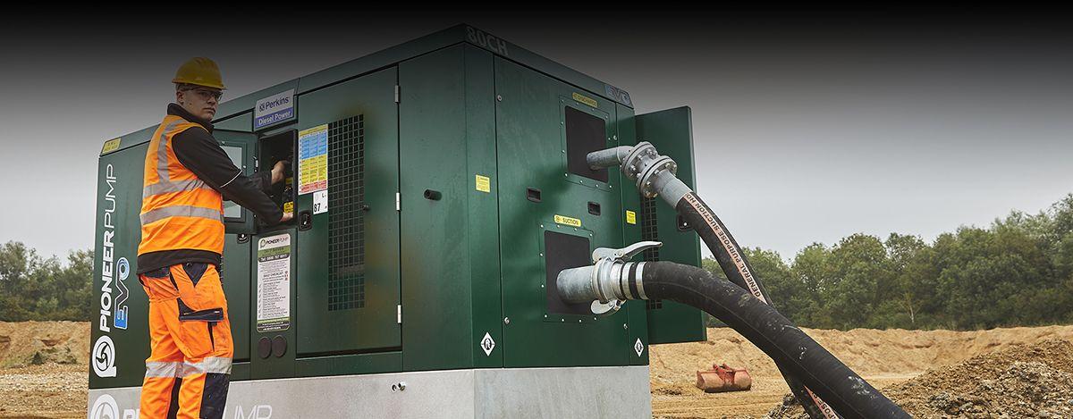 Pioneer Pump Ltd Pumping equipment – Perkins® 400, 900 and 1200 Series