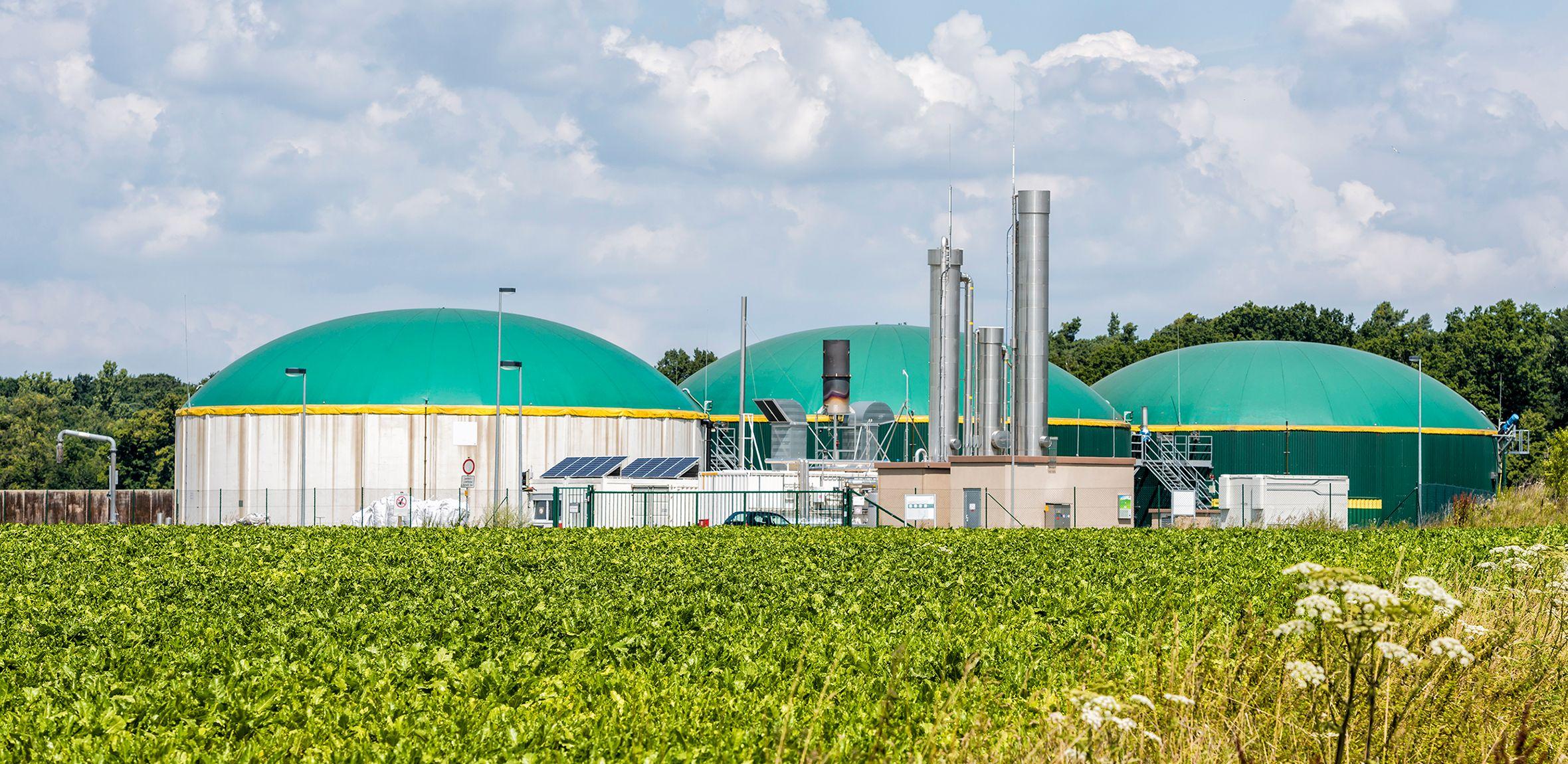 biogas higher efficiency