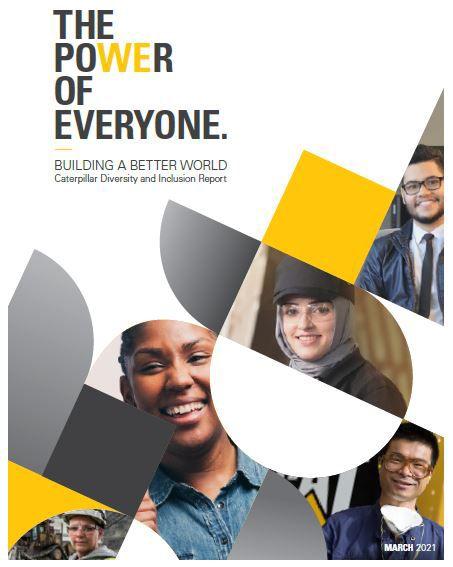Relatório de Diversidade e Inclusão da Caterpillar 2021