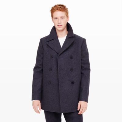 Men   Outerwear   Wool Pea Coat   Club Monaco