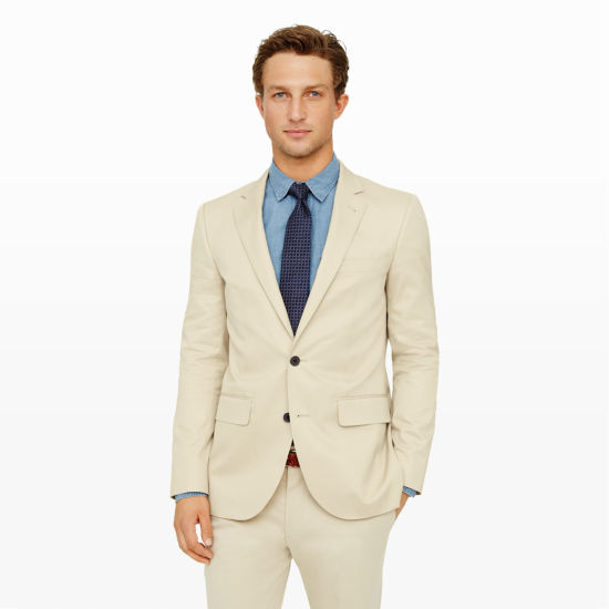 Men | All Sale | New Grant Cotton Suit Jacket | Club Monaco