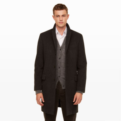 Men | What to Wear | Wool Cashmere Topcoat | Club Monaco